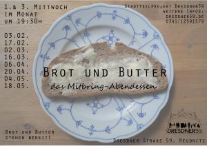 flyer Brot und Butter 2016