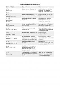 Lebendiger Adventskalender2015-2