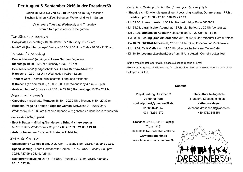 Programm Aug 2016