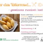 Über den Tellerrand - gemeinsam russisch kochen am 25.05. ab 17:00
