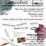Gartenfest im Nachbarschaftscafé