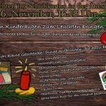 Weihnachten im Schukarton // christmas in a shoe box - 06.11., 16-18 Uhr