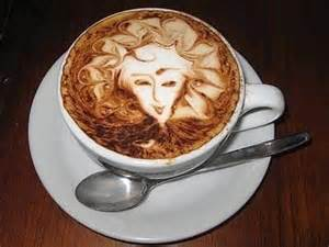 Nadel, Faden und ein Tässchen Kaffee