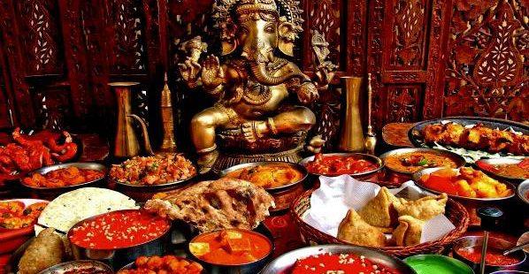 Winterliches Indien im Bio Tempel