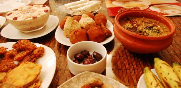 Iftar - gemeinsames Fastenbrechen in der Dresdner59