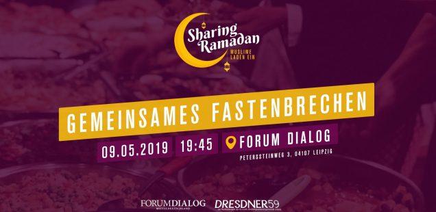 Iftar - gemeinsames Fastenbrechen bei Forum Dialog Mitteldeutschland