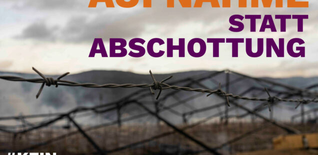 Politisches Nachtgebet für Lesbos und Lipa: 17.02., 20 Uhr