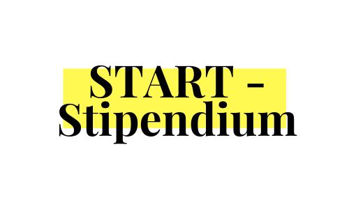 Bewirb dich beim START-Stipendium!